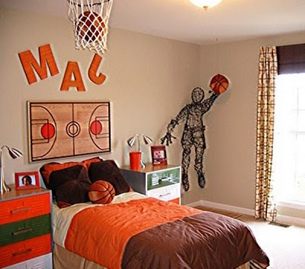 Simple Steps to Consider For an Inspiring Basketball Themed Bedroom homesthetics decor (5)