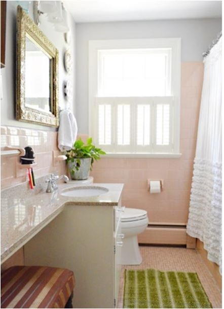 Solutions for Renters Design Series - 10 Creative Bathroom Ideas homesthetics decor (12)