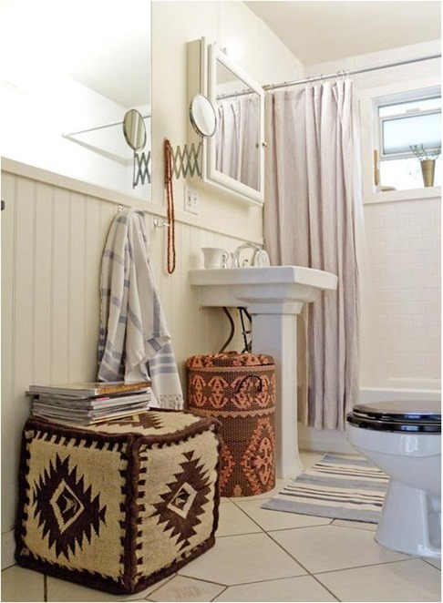 Solutions for Renters Design Series - 10 Creative Bathroom Ideas homesthetics decor (15)