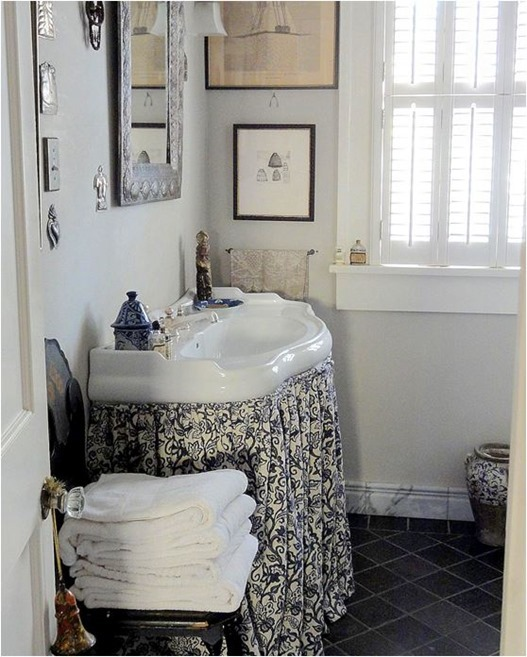 Solutions for Renters Design Series - 10 Creative Bathroom Ideas homesthetics decor (17)