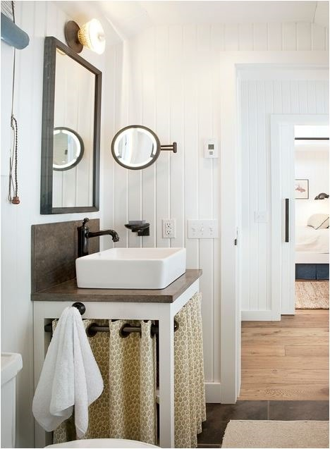 Solutions for Renters Design Series - 10 Creative Bathroom Ideas homesthetics decor (18)