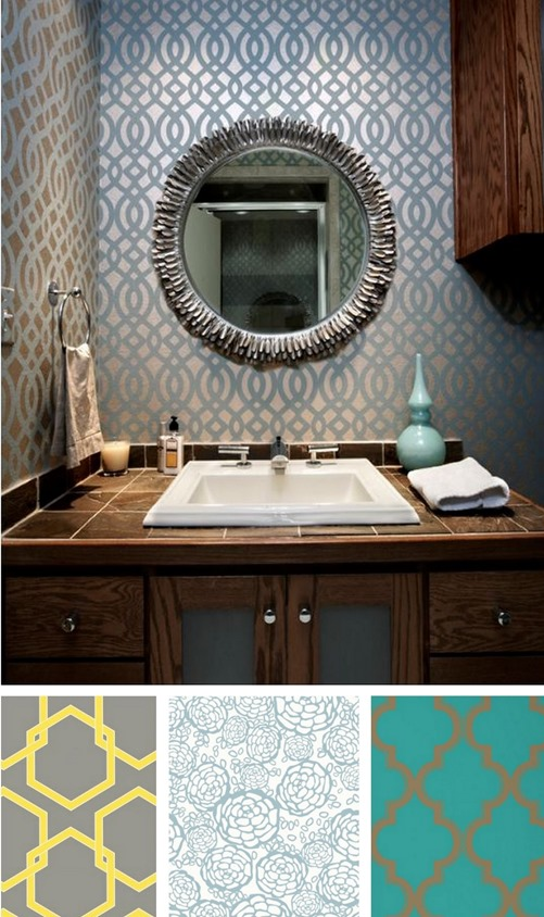 Solutions for Renters Design Series - 10 Creative Bathroom Ideas homesthetics decor (19)