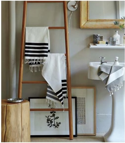 Solutions for Renters Design Series - 10 Creative Bathroom Ideas homesthetics decor (22)