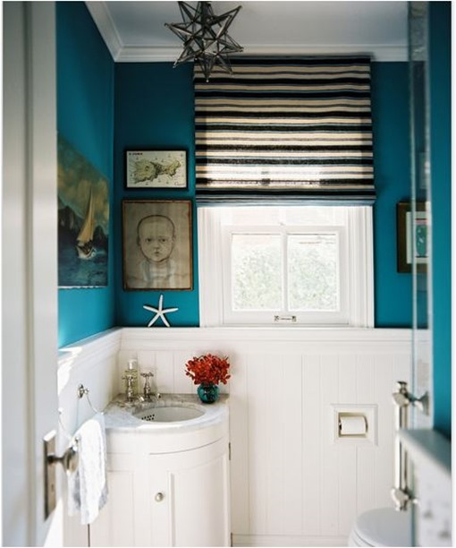 Solutions for Renters Design Series - 10 Creative Bathroom Ideas homesthetics decor (23)