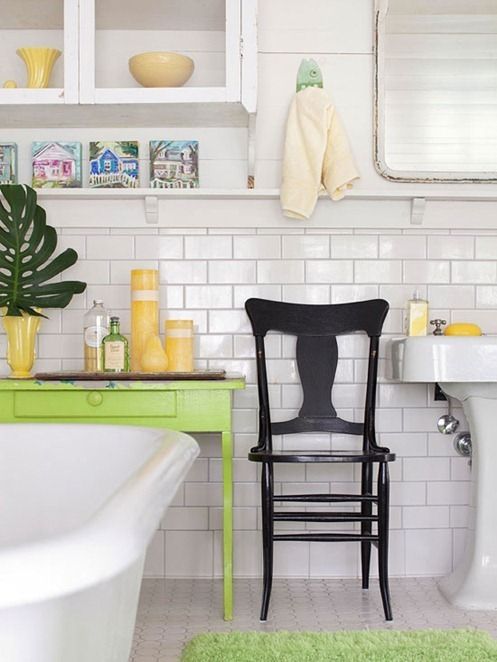 Solutions for Renters Design Series - 10 Creative Bathroom Ideas homesthetics decor (4)