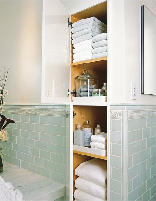 Solutions for Renters Design Series - 10 Creative Bathroom Ideas homesthetics decor (5)