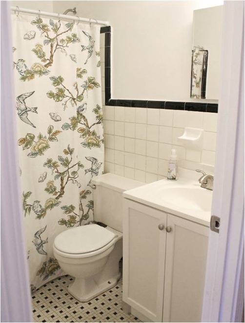 Solutions for Renters Design Series - 10 Creative Bathroom Ideas homesthetics decor (8)