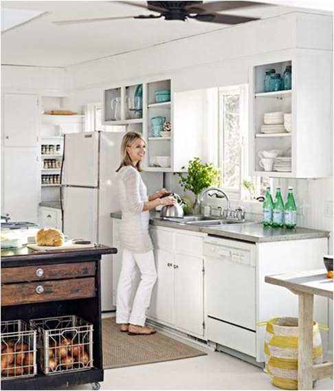 Solutions for Renters Design Series - 10 Ingenious Kitchen Ideas (18)