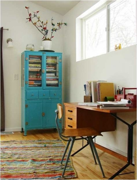 Temporary home office solutions for renters design 10 - Home decor ideas for small homes ...