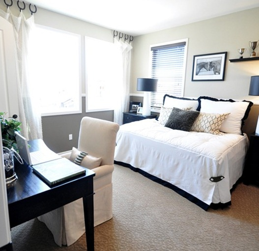 Solutions for Renters Design Series - 10 Small Creative Home Offices homesthetics decor (11)