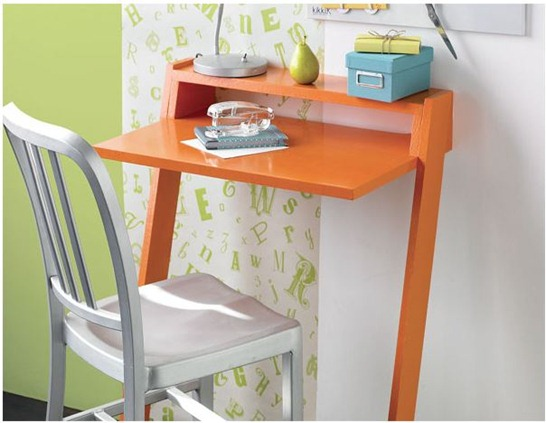 Solutions for Renters Design Series - 10 Small Creative Home Offices homesthetics decor (14)