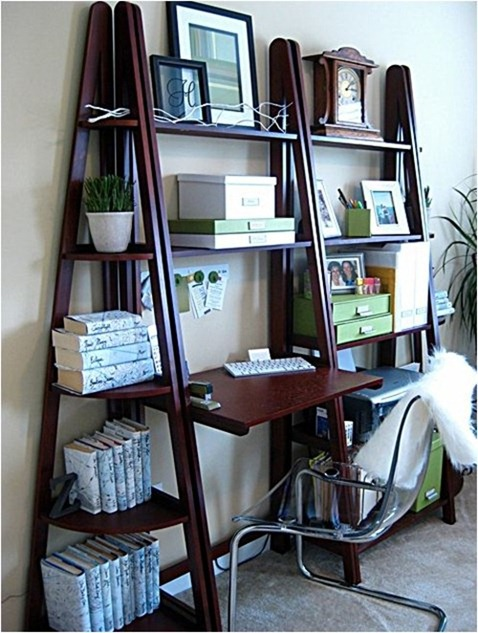 Solutions for Renters Design Series - 10 Small Creative Home Offices homesthetics decor (19)