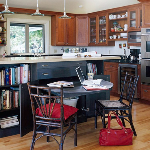 Solutions for Renters Design Series - 10 Small Creative Home Offices homesthetics decor (2)