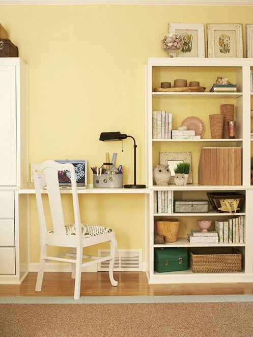 Solutions for Renters Design Series - 10 Small Creative Home Offices homesthetics decor (21)