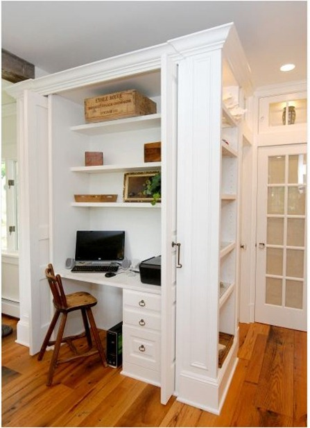 Temporary Solutions For Renters Design U2013 10 Small Creative Home Offices