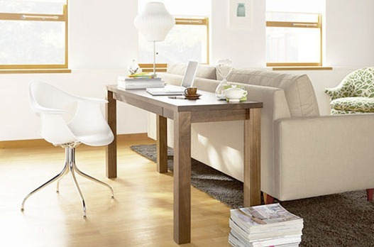 Solutions for Renters Design Series - 10 Small Creative Home Offices homesthetics decor (4)