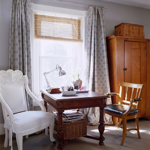 Solutions for Renters Design Series - 10 Small Creative Home Offices homesthetics decor (6)