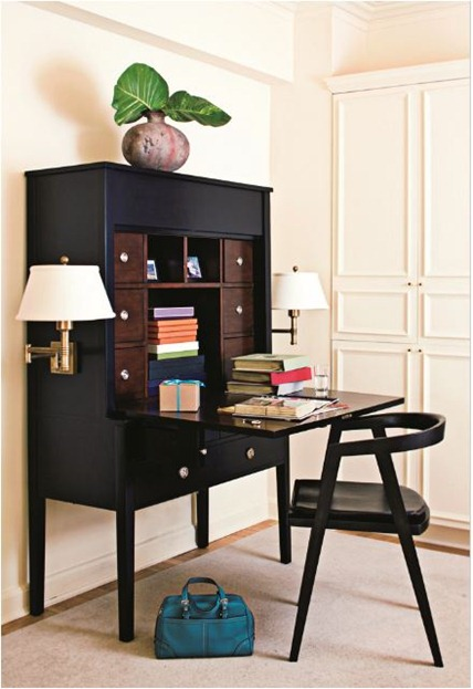 Solutions For Renters Design Series   10 Small Creative Home Offices  Homesthetics Decor (8)