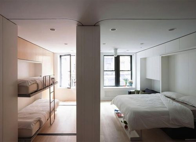 The $1Million Foldable Apartment-420-Square-Foot Studio That Can Transform Into Five Different Rooms-homesthetics.net (5)