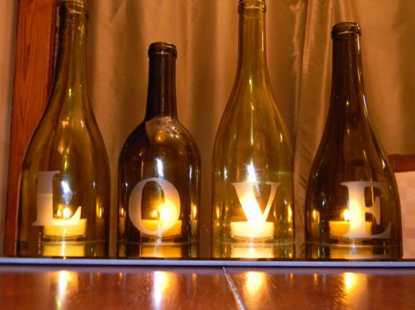 Upcycling Inspiration Pack-Insanely Beautiful DIY Wine Bottle Centerpieces That You Should Try homesthetics decor (20)