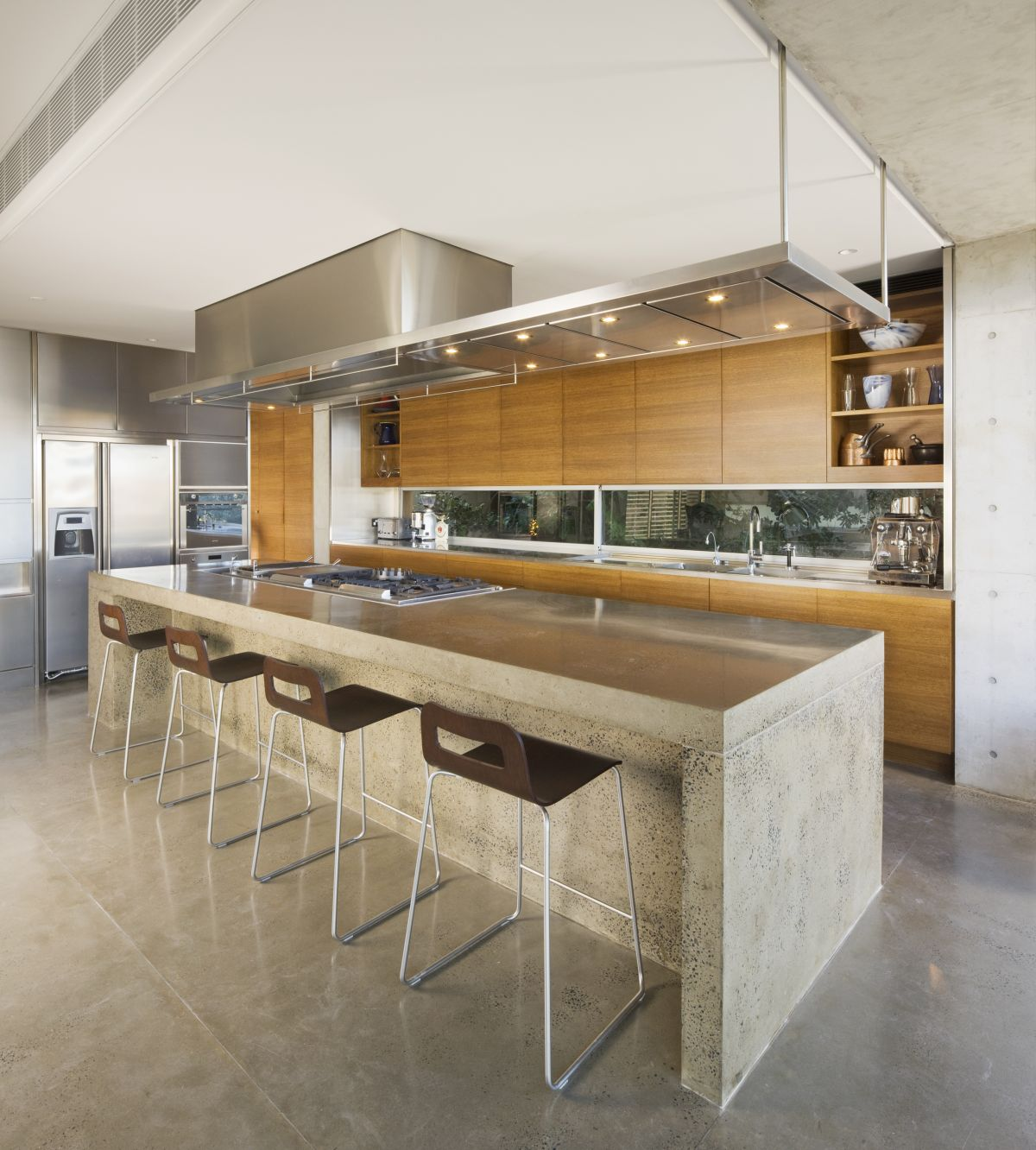 Simply inspiring 10 wonderful kitchen design lines that for Modern kitchen layout