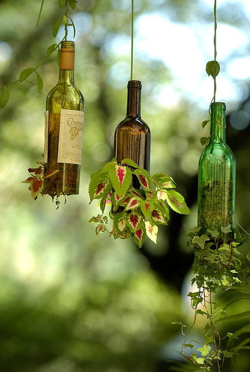 planter-wine-bottle