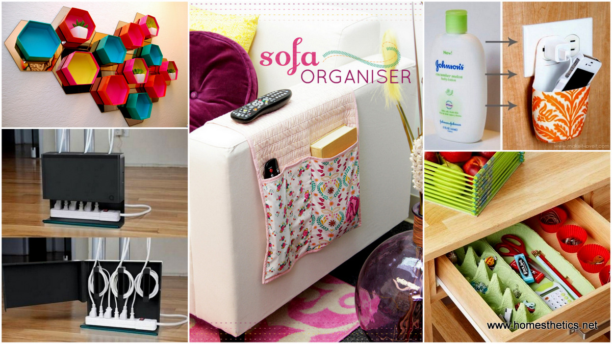 Creative small space storage solutions that will make your for Home storage solutions for small spaces