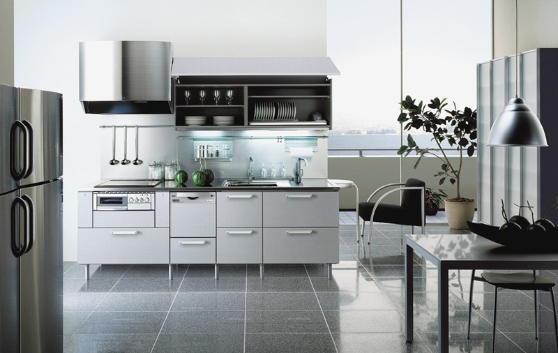 steel-colored-kitchen