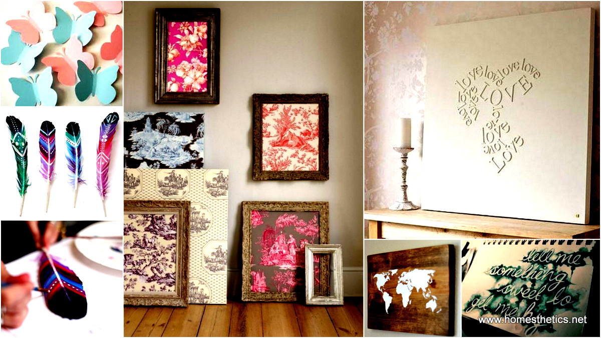 Diy Wall Canvas Room Inspiration : Creative diy wall art ideas and inspiration