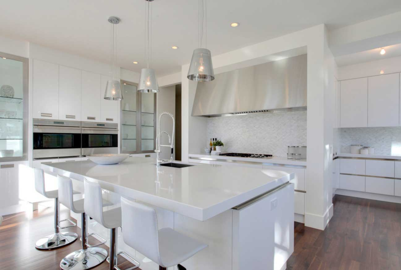 Simply inspiring 10 wonderful kitchen design lines that Best white kitchen ideas