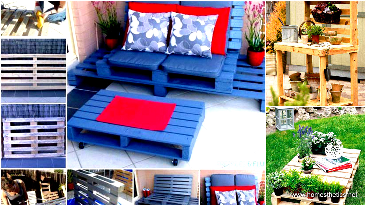 39 Insanely Smart And Creative DIY Outdoor Pallet Furniture Designs