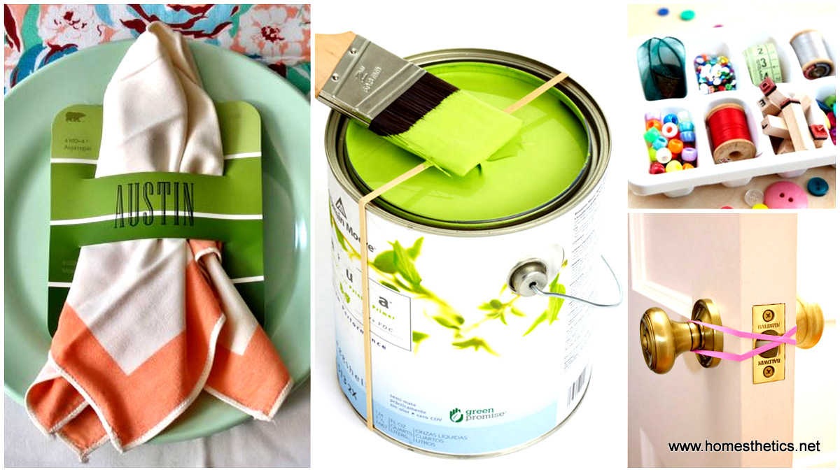 58 new smart and creative hacks for household items for Household hacks
