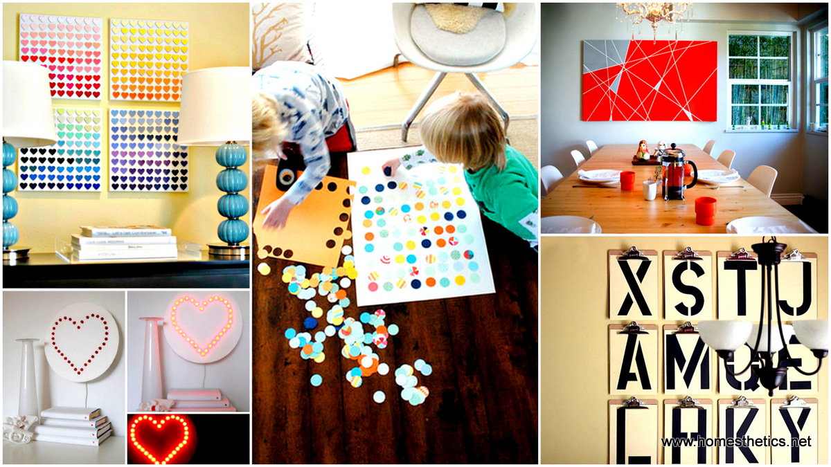 27 beautiful diy wall art projects that will e