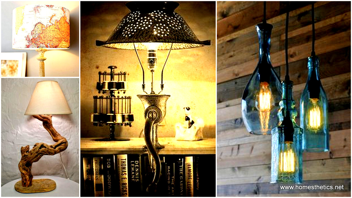 Delightful 21 Extraordinary Unique DIY Lighting Fixture Projects You Will Simply Adore