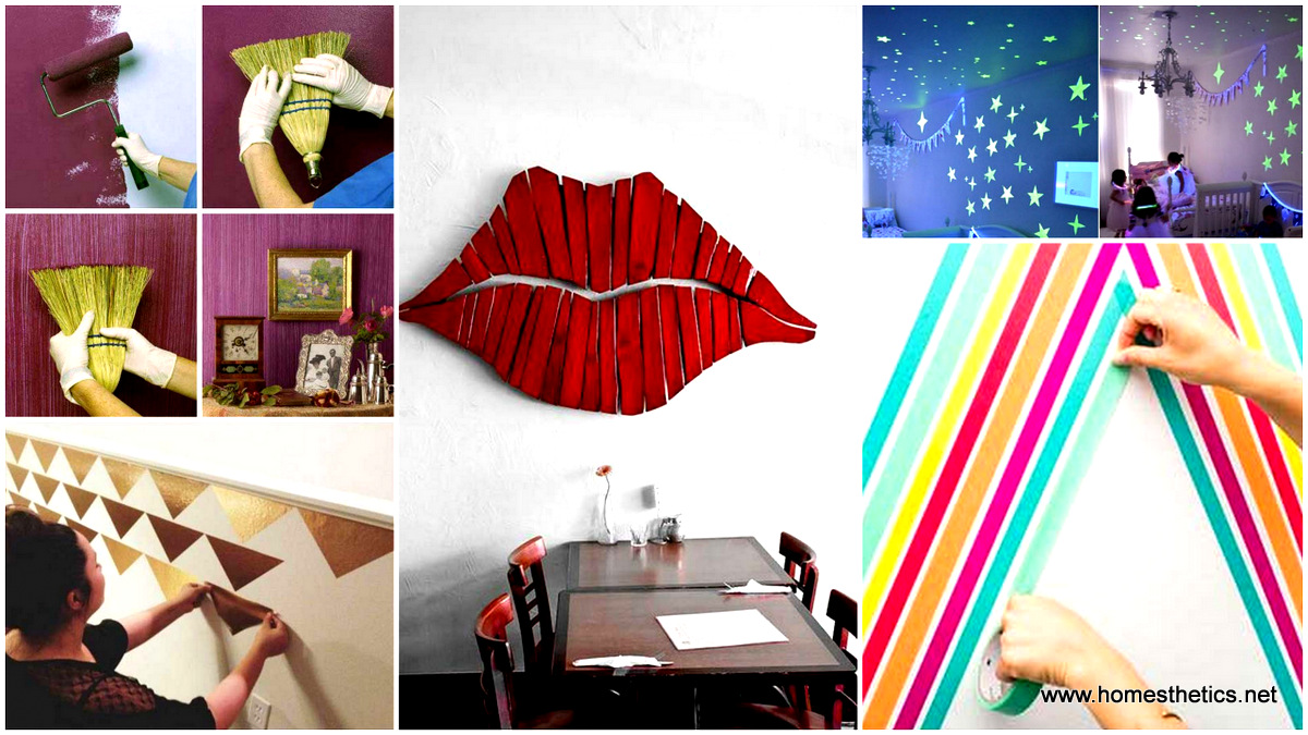 25 cool no money decorating projects that will beautify for Decorate pictures