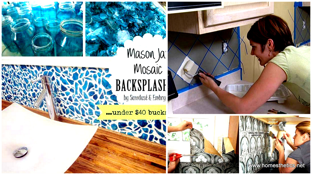 - 24 Cheap DIY Kitchen Backsplash Ideas And Tutorials You Should See