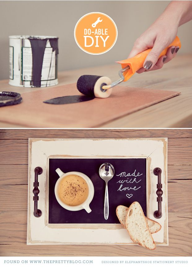 dit spring projects-serving tray