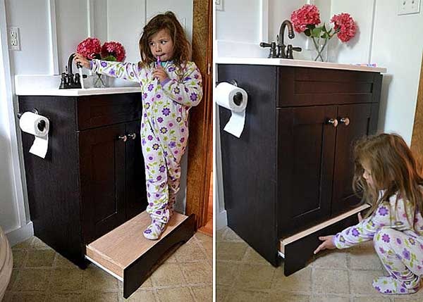 20 Insanely Smart Top Secret Hidden Storage You Can Use To