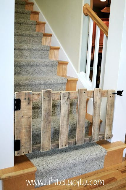 #6 GREAT SMALL WOODEN STAIR FENCE