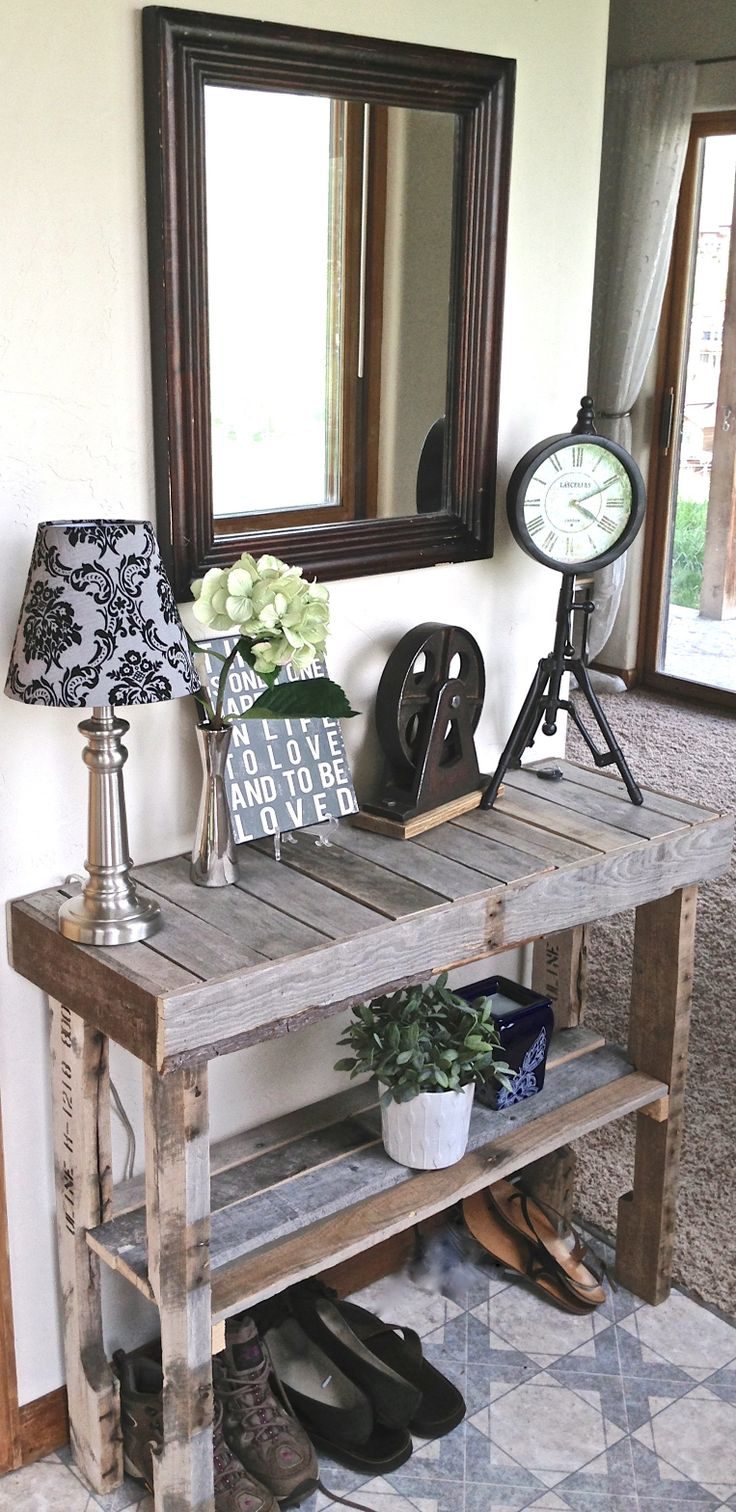 #9 SMALL HALLWAY ENTRY SIDE TABLE