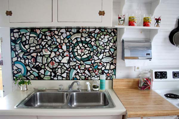 24 Cheap DIY Kitchen Backsplash Ideas And Tutorials You Should  See Homesthetics (6)