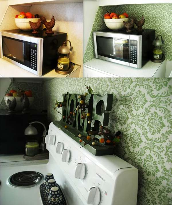24 Cheap DIY Kitchen Backsplash Ideas and Tutorials You Should See on old country kitchen ideas, beadboard kitchen ideas, wallpaper ideas for kitchen, wallpaper in kitchen, pink kitchen decorating ideas, wallpaper kitchen backsplashes, kitchen floor tile ideas, chicken kitchen ideas, kitchen wallpaper border ideas, painted kitchen cabinet ideas, wallpaper for kitchens wallcoverings, small kitchen ideas, wallpaper master bedroom ideas, wallpaper for small kitchen, kitchen color ideas, wallpaper kitchen cabinets, kitchen wall ideas, contemporary kitchen wallpaper ideas, wallpaper kitchen decor, kitchen backdrop ideas,