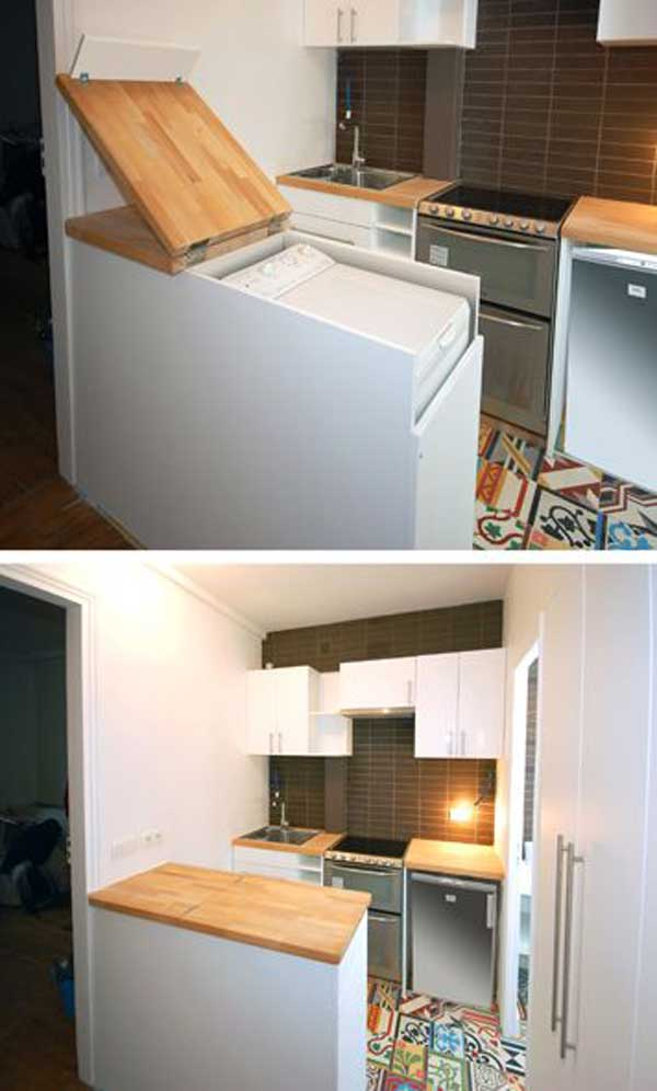 24 creative clever space saving ideas that will enlargen your space
