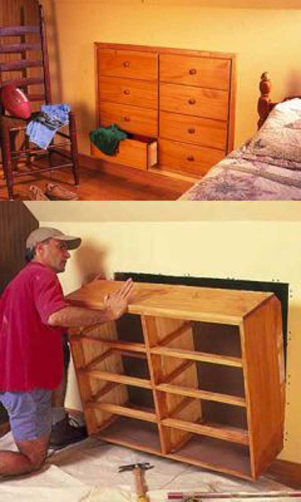 24 Creative Amp Clever Space Saving Ideas That Will Enlargen