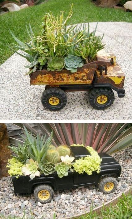 24 Insanely Creative DIY Garden Container Projects That Will Beautify Your Backyard Landscaping homesthetics decor (21)