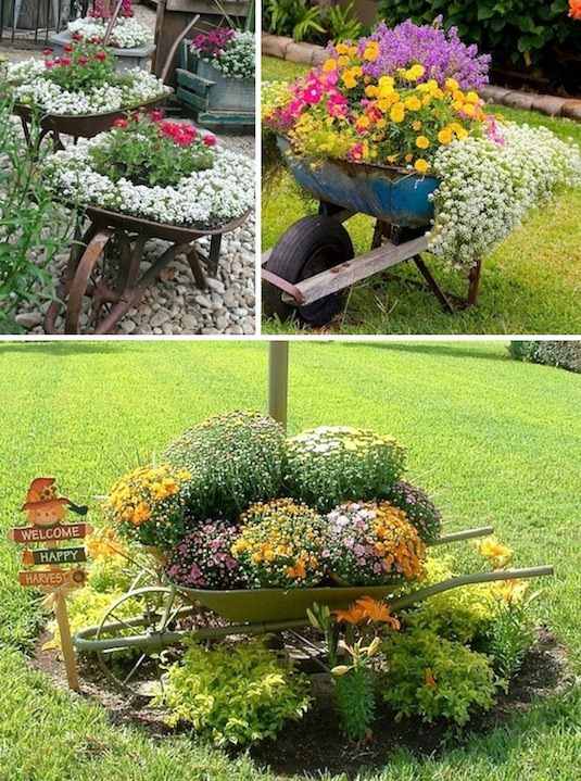 24 Insanely Creative DIY Garden Container Projects That Will Beautify Your Backyard Landscaping homesthetics decor (23)