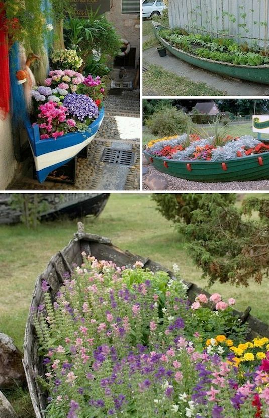 24 Insanely Creative DIY Garden Container Projects That Will Beautify Your Backyard Landscaping homesthetics decor (6)
