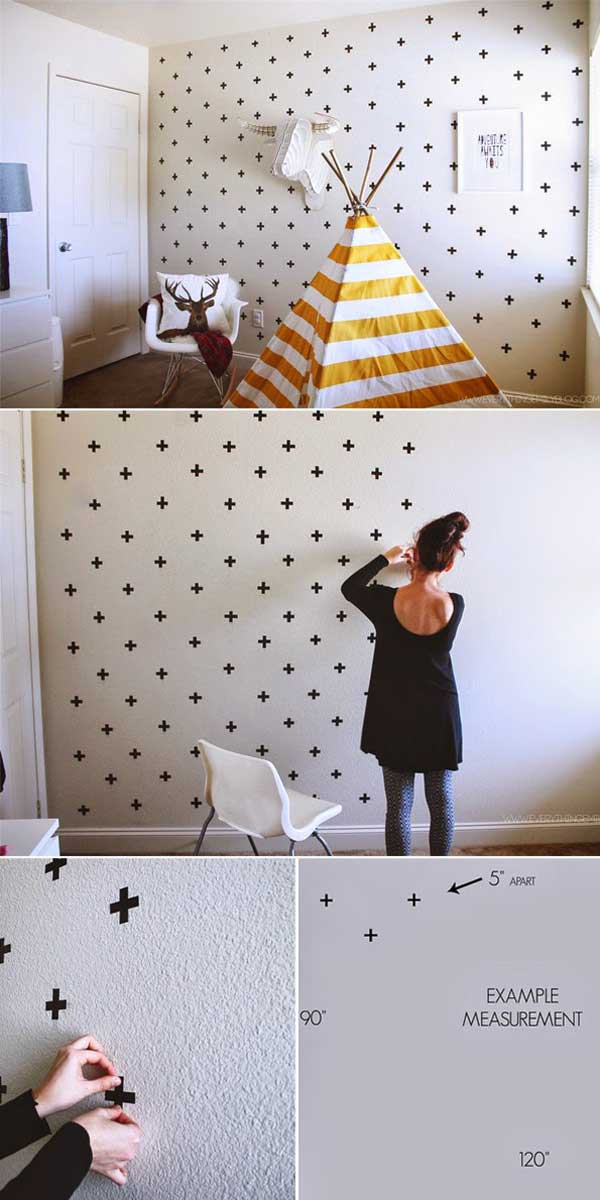25+ Cool No-Money Decorating Projects That Will Beautify Your Decor Through Wall Art homesthetics decor (1)