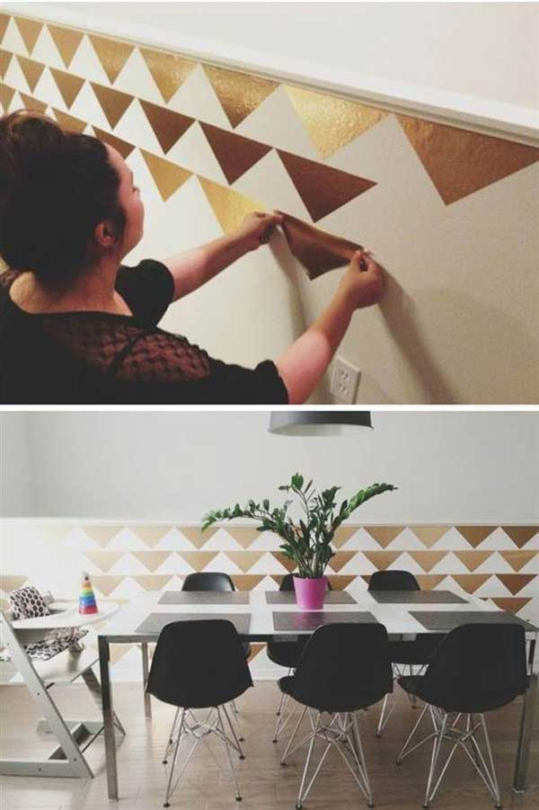 25+ Cool No-Money Decorating Projects That Will Beautify Your Decor Through Wall Art homesthetics decor (13)