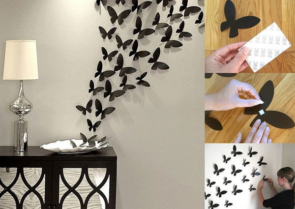 25+ Cool No-Money Decorating Projects That Will Beautify Your Decor Through Wall Art homesthetics decor (21)